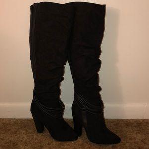Knee High Black Boot